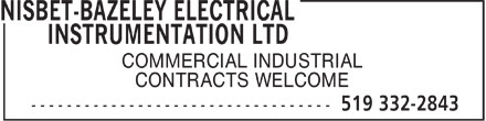 Nisbet-Bazeley Electrical&Instrumentation Ltd.
